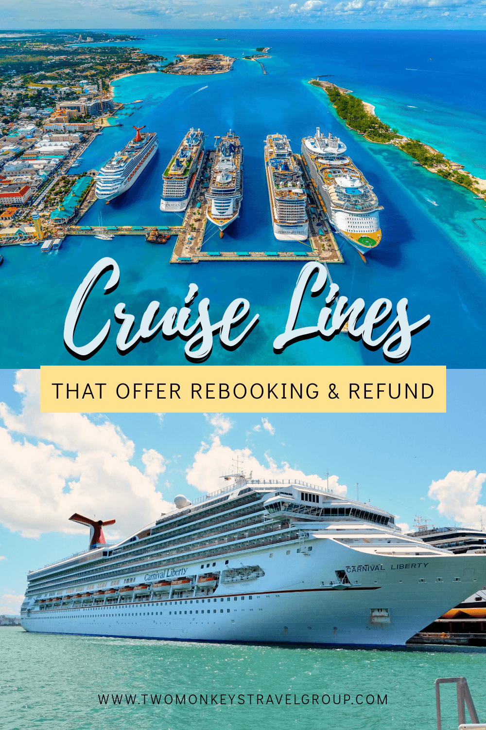 Cruise Refund Policy & Updated Departure Dates List of Cruise Lines that Offer Rebooking and Refund