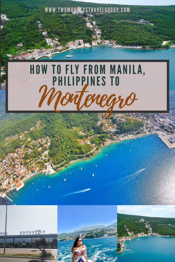 Different Flight Routes to Montenegro How To Fly From Manila, Philippines to Montenegro