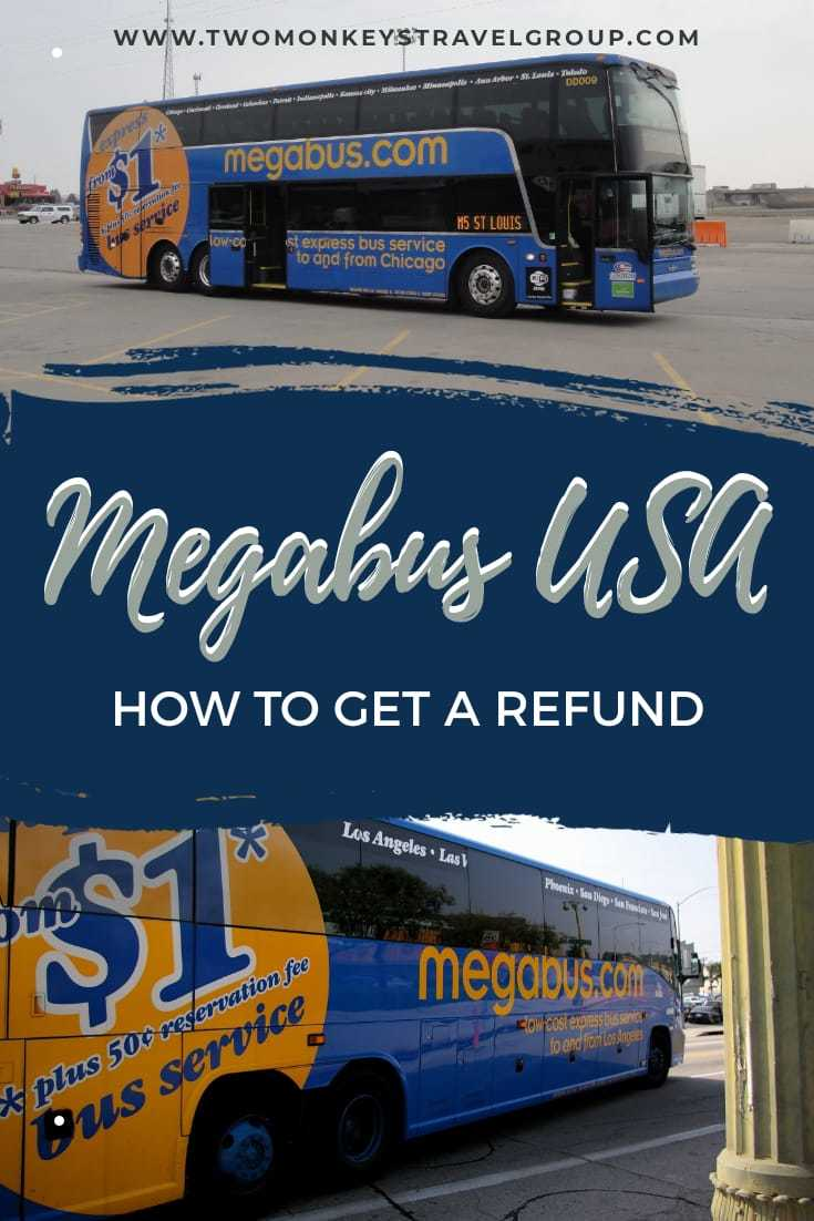 How Do I Get Refund from Megabus USA Cancellation Policy of Megabus