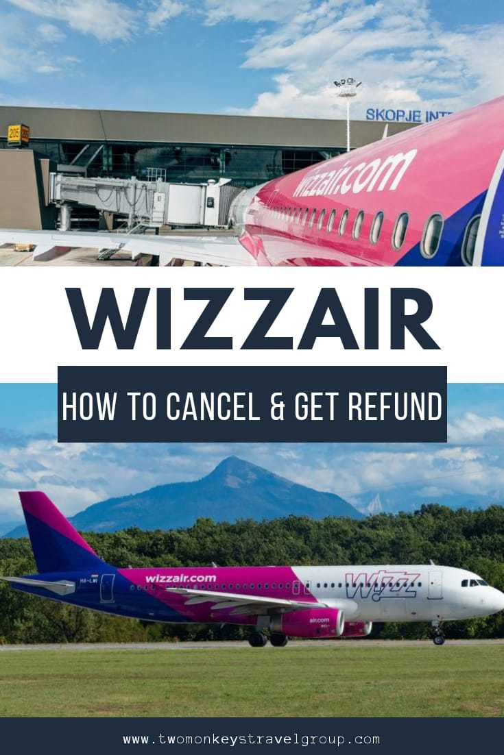 How To Cancel my WizzAir Flight and Get a Refund