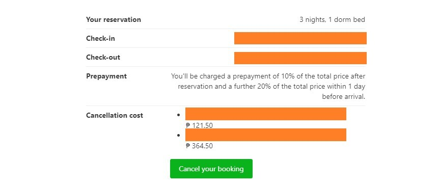 How to Cancel Hotel Reservation on Booking