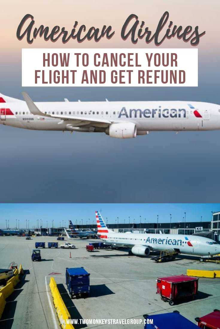 How to Cancel Your Flight and Get Refund with American Airlines