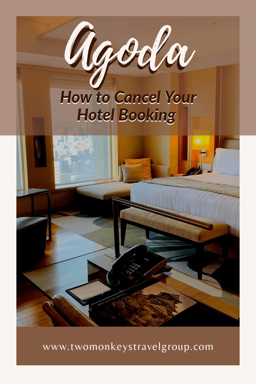 How to Cancel Your Hotel Booking on Agoda.com [Refundable and Non Refundable] with Sample Letter
