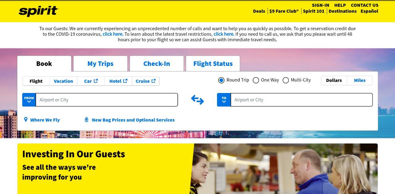 How to Cancel and Change Flights with Spirit Airlines