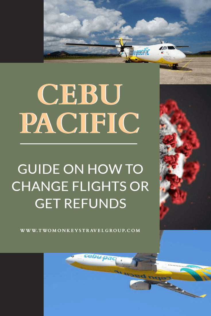 How to Change Flights or Get Refunds on Cebu Pacific Airlines