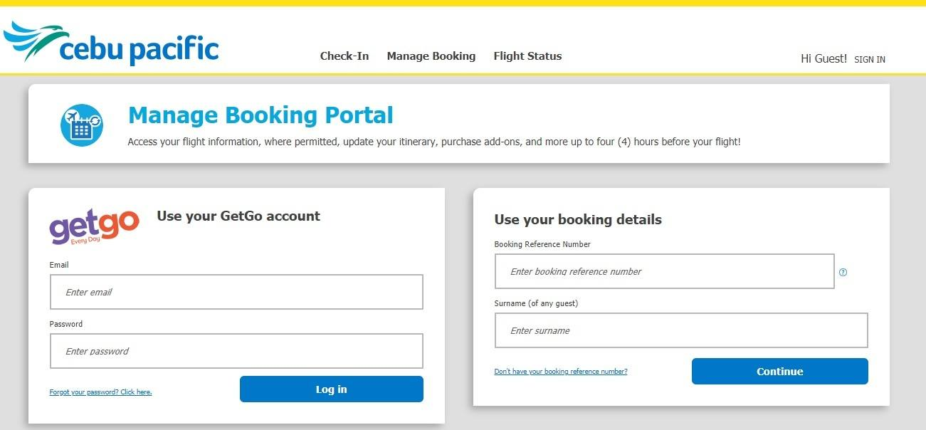 How to Change Flights or Get Refunds on Cebu Pacific