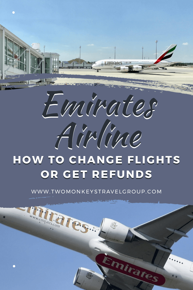 How to Change Flights or Get Refunds on Emirates Airline [Step by Step Guide]