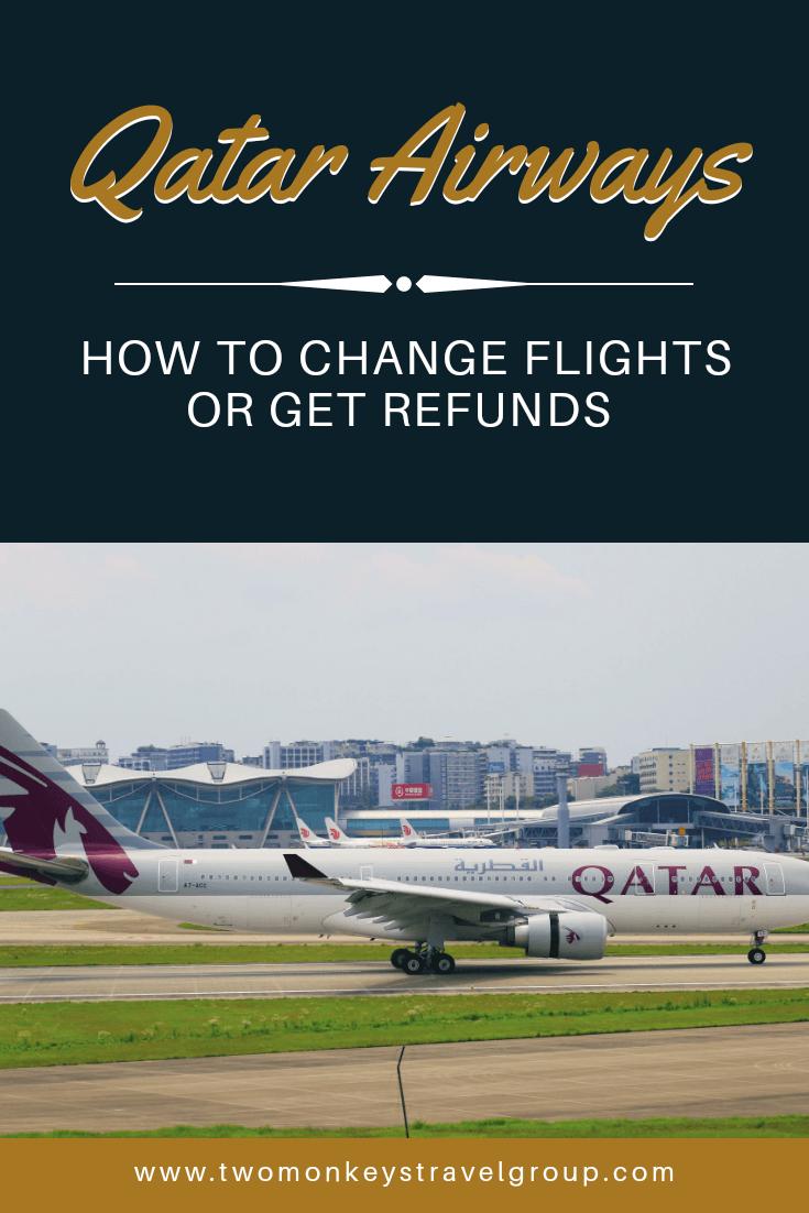 How to Change Flights or Get Refunds on Qatar Airways