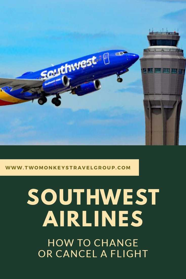 How to Change or Cancel a Flight on Southwest Airlines [Tips to Get Refund]