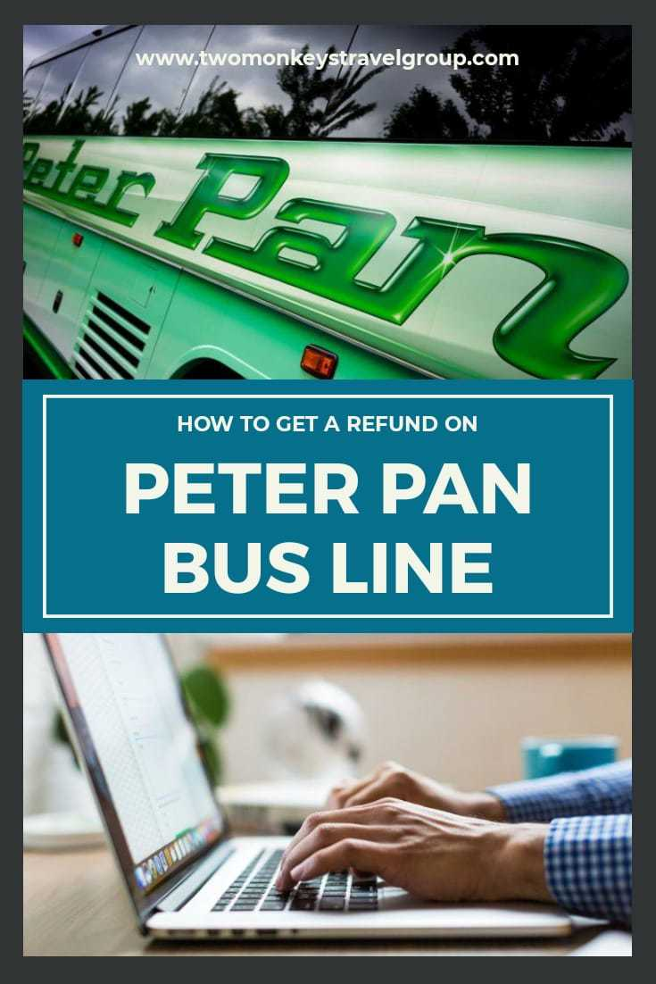 How to Get Refund on Peter Pan Bus Lines Ticket Cancellation Policy