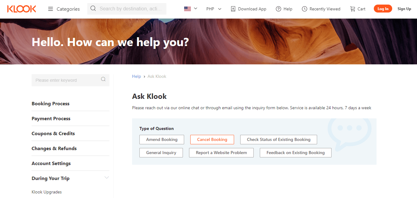 How to Rebook and Get Refunds on Klook