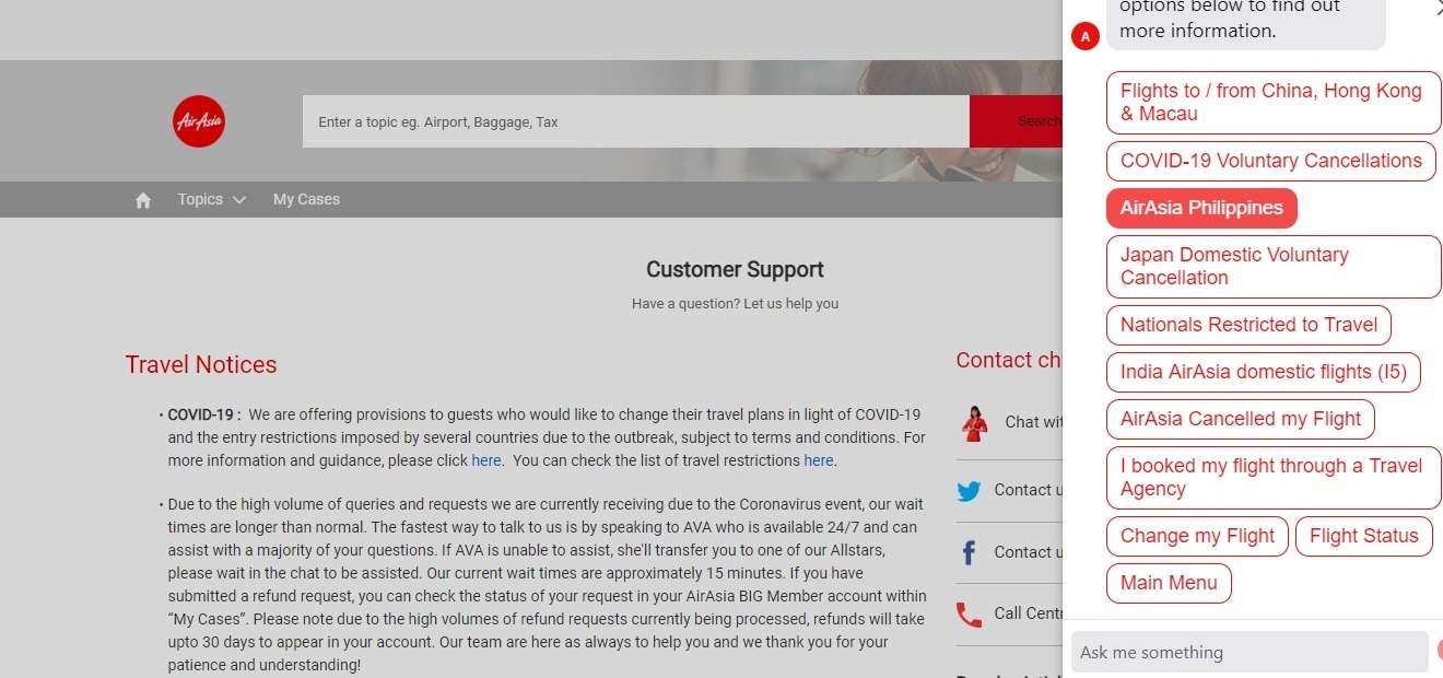 How to Request for Refunds on AirAsia (Including Types of Refund)