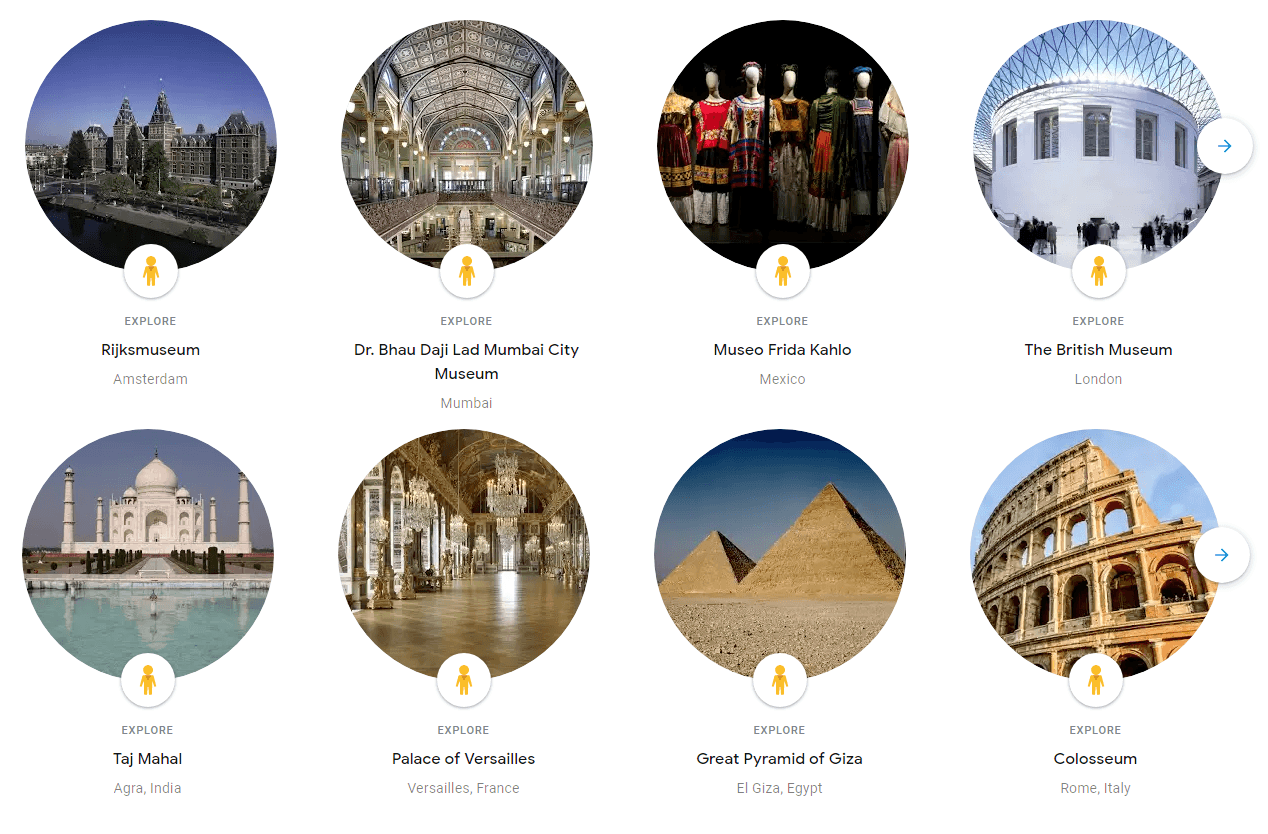 How to use Google Virtual Tours and Places You Can Visit1