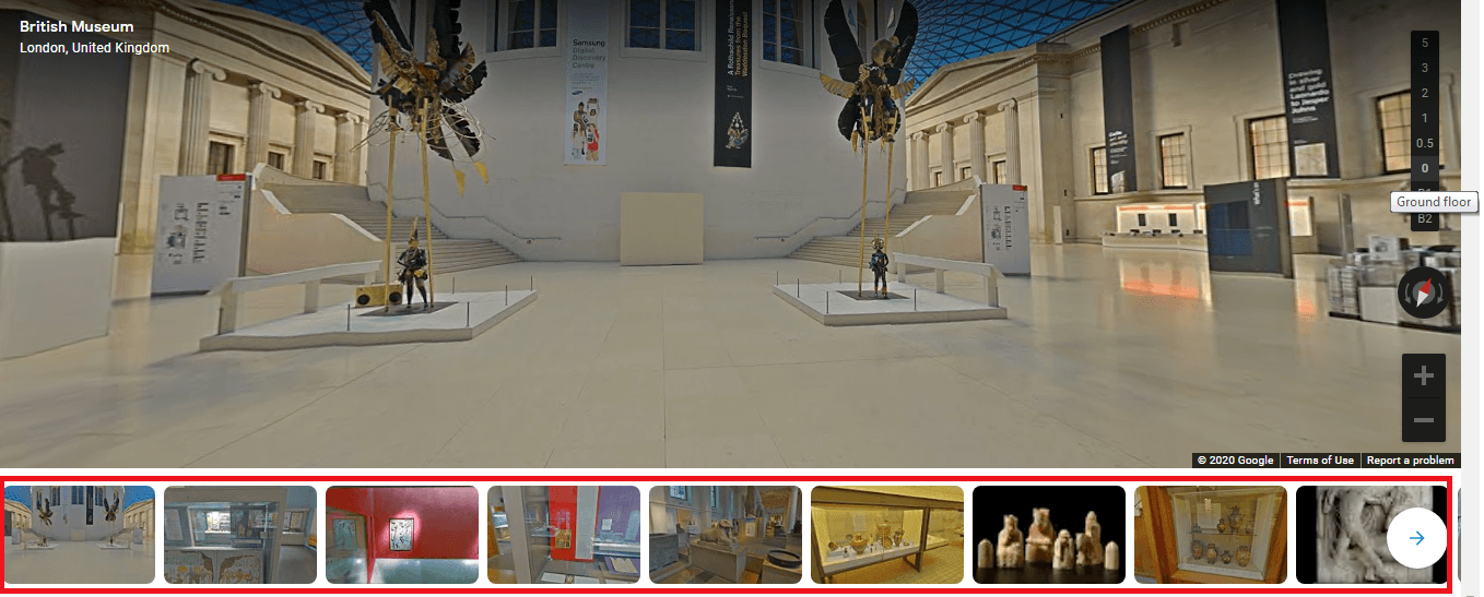 How to use Google Virtual Tours and Places You Can Visit2
