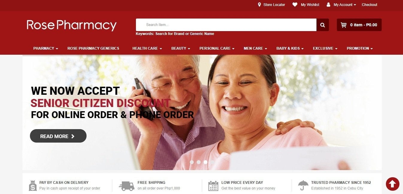 Online Shopping and Food Delivery Services in Cebu, Philippines