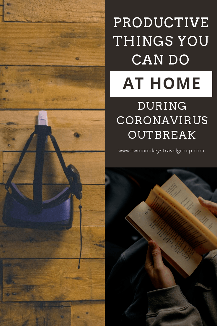 Productive Things You Can Do at Home During the Coronavirus Outbreak