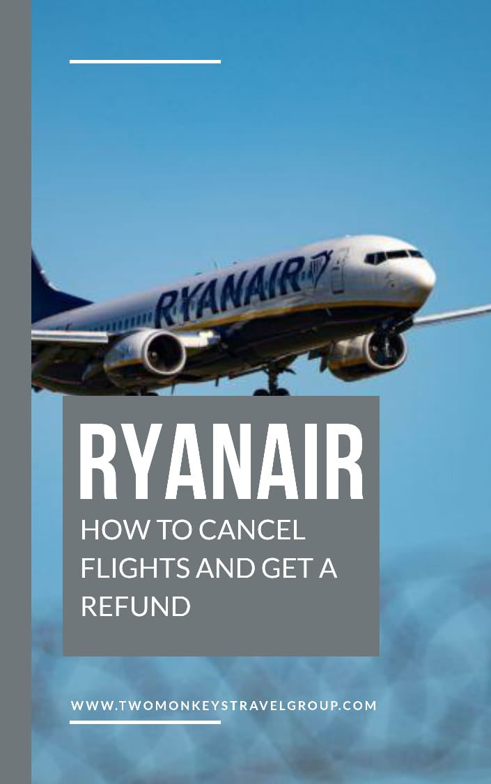 RyanAir Refund Policy How to Cancel Flight and Get a Refund with RyanAir
