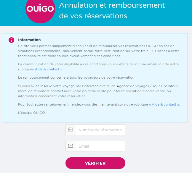 SNCF (France National Railway) Guide for Exchange and Refunds of Tickets2