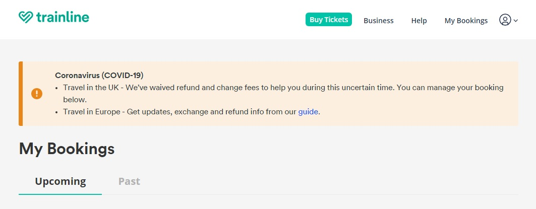 Step By Step Guide On How to Get an Exchange or Refund in Trainline1