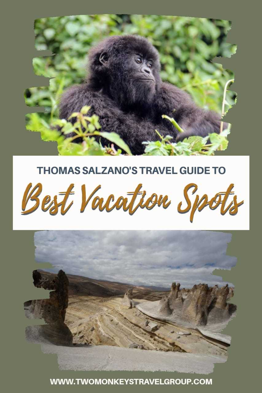 Thomas Salzano's Travel Guide to the Best Vacation Spots In 2020