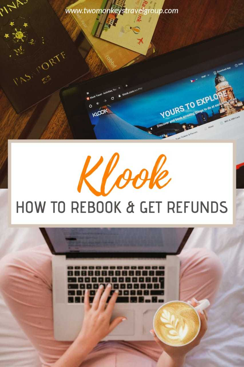 Tours Cancellation How to Rebook and Get Refunds on Klook