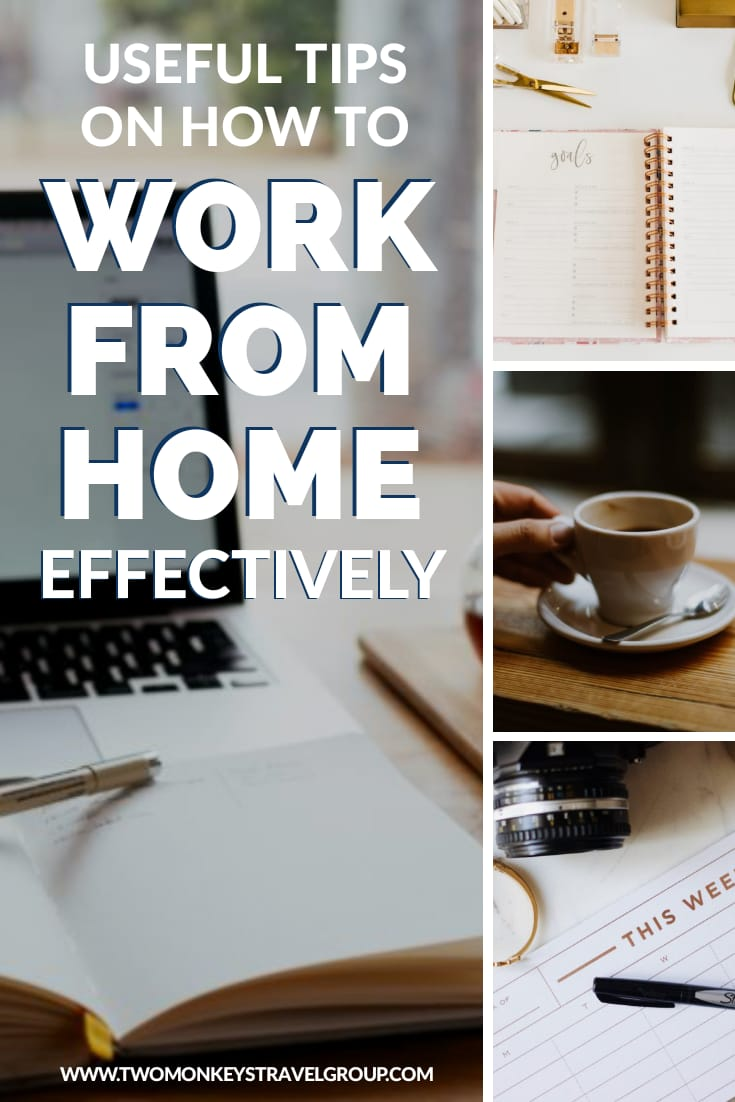 12 Useful Tips on How to Work From Home Effectively [Working Online Tips]