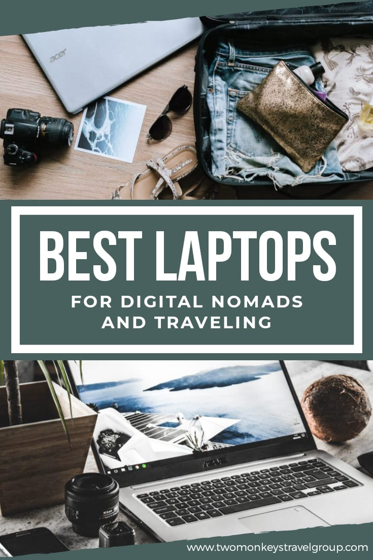 20 Best Laptops for Digital Nomads and Traveling [With Prices]