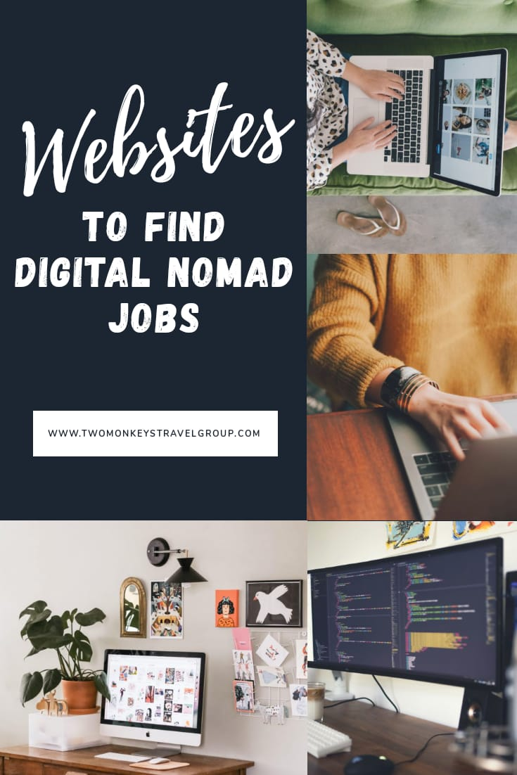 40+ Websites to Find Digital Nomad Jobs – Work Wherever You Want