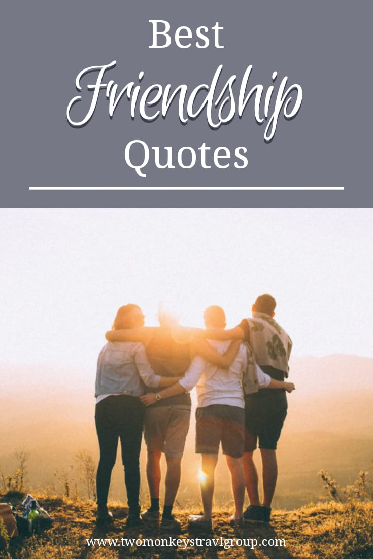 49 Best Friendship Quotes – Short Quotes About True Friends
