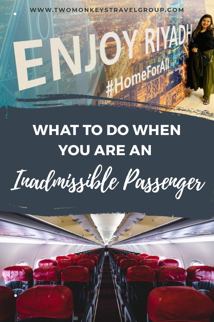Airport to Airport What to do when you are an Inadmissible Passenger