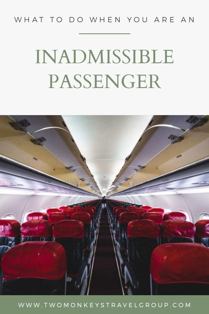 Airport to Airport What to do when you are an Inadmissible Passenger1