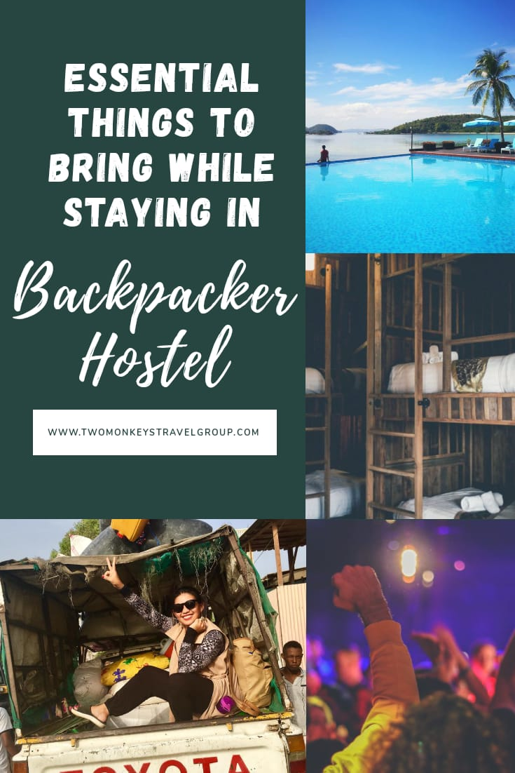 Backpacking Guide 10 Essential Things to Bring while Staying in Backpacker Hostel