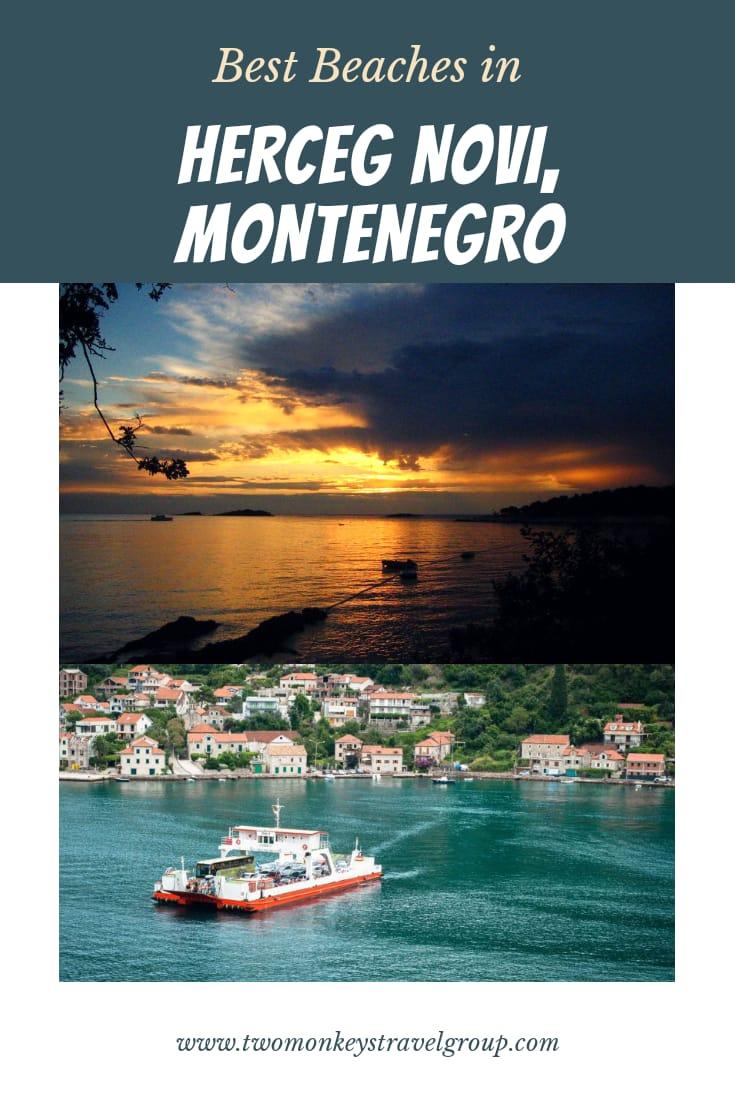 Best Beaches in Herceg Novi, Montenegro and Sorroundings