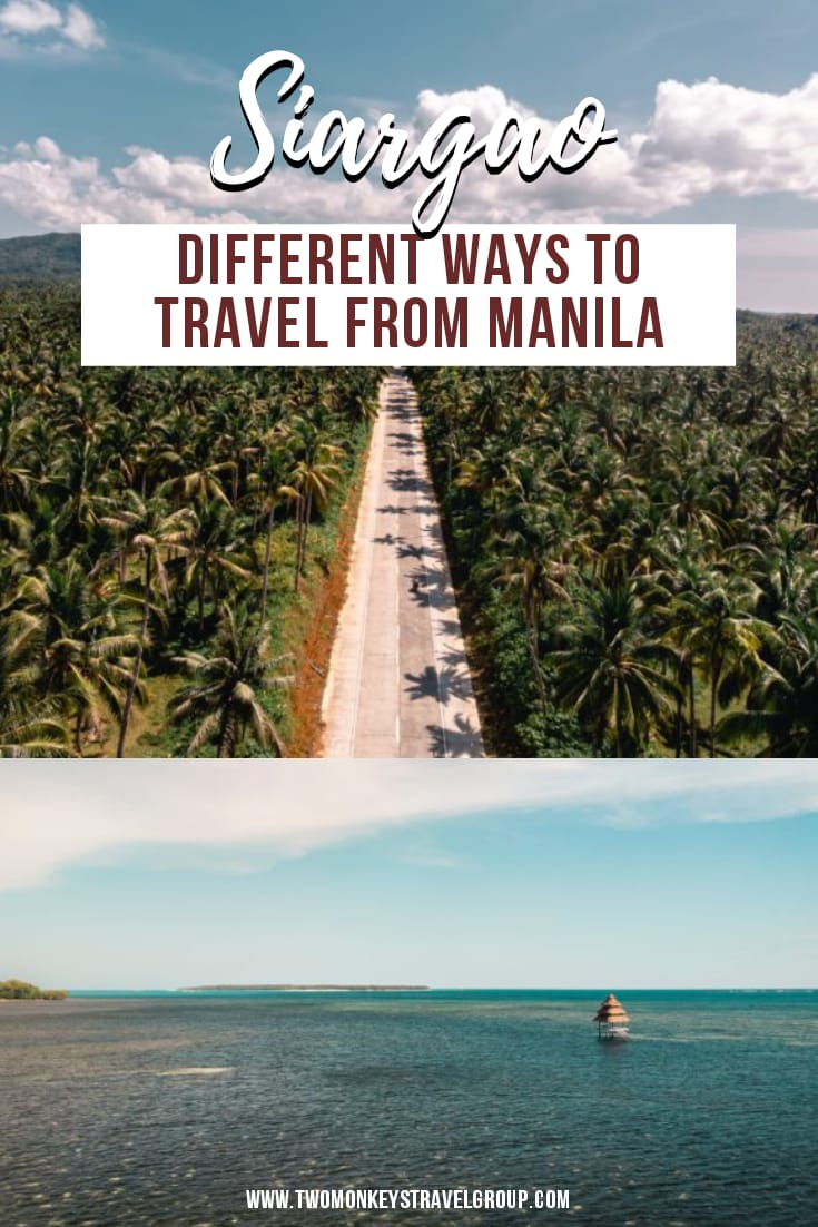 Different Ways to Travel from Manila to Siargao [How to Travel to Siargao]