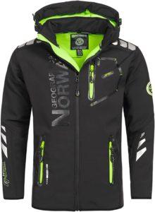 Geographical Norway Vantaa Men's Softshell Jacket Outdoor Function Waterproof