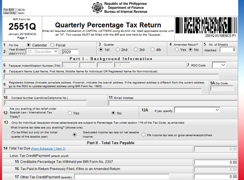 How Digital Nomads or Online Entrepreneurs can register to BIR and pay Taxes 04