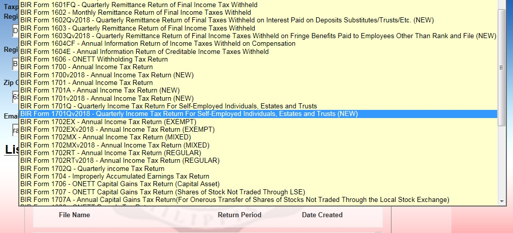How Digital Nomads or Online Entrepreneurs can register to BIR and pay Taxes 07