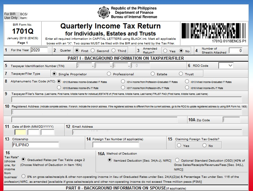 How Digital Nomads or Online Entrepreneurs can register to BIR and pay Taxes 08
