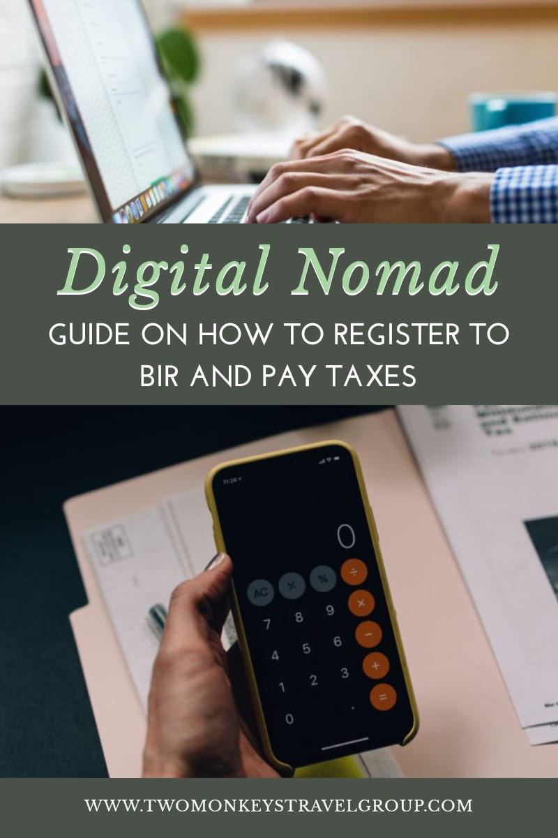 How Filipino Digital Nomads or Online Sellers Can Register to BIR and Pay Taxes