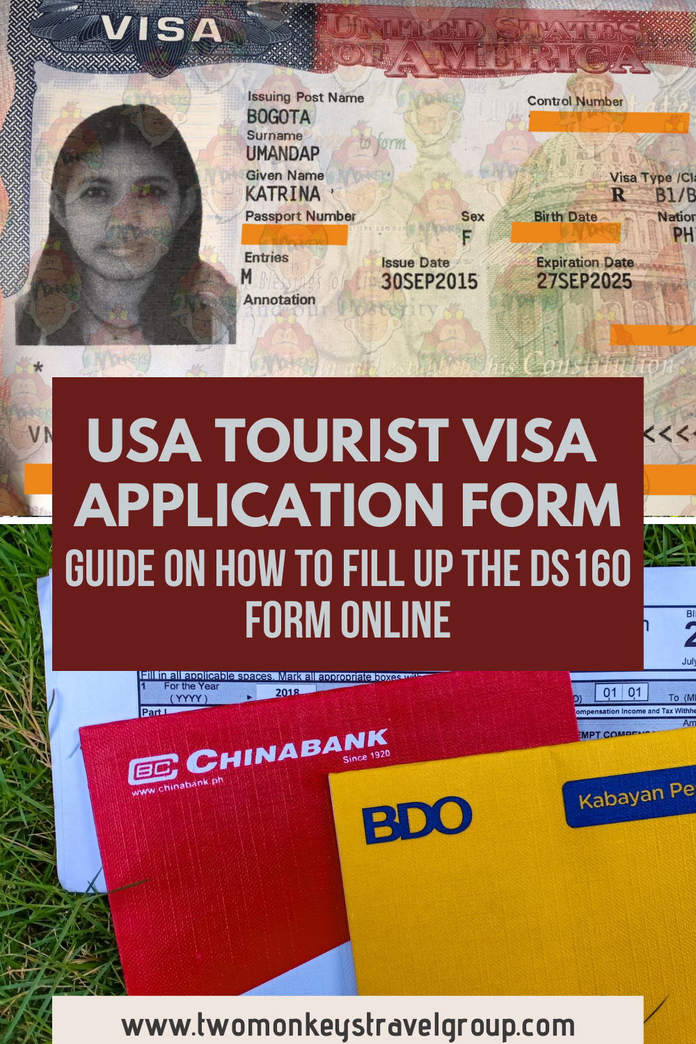 How To Fill Up the DS160 Form Online [USA Tourist Visa Application Form]