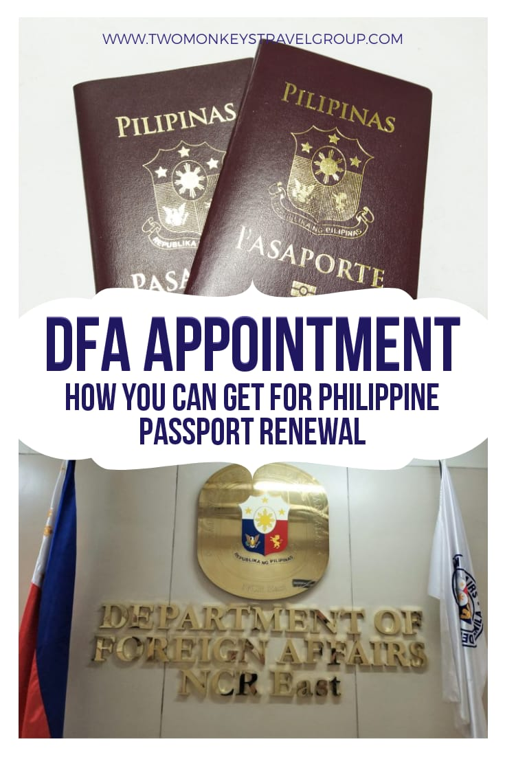 How You Can Get a DFA Appointment for Philippine Passport Renewal
