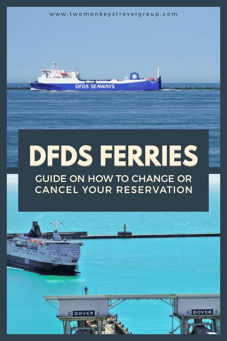 How to Change or Cancel your Reservation with DFDS Ferries [Refund Policy]