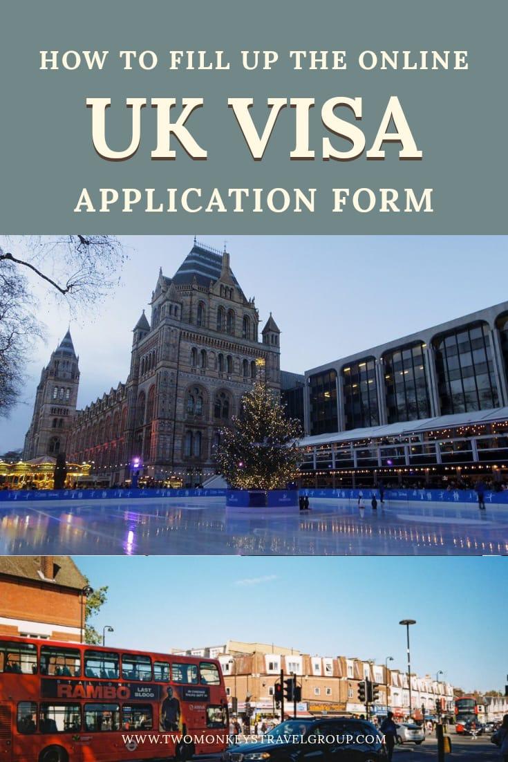 How to Fill Up the Online UK Visa Application Form - UK Visit Visa Application