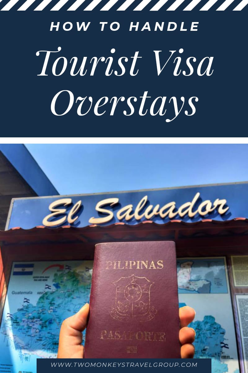 How to Handle Tourist Visa Overstays [COVID 19 Restrictions]1
