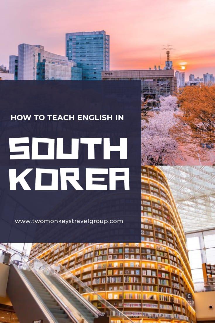 How to Teach English in South Korea – TEFL Teaching Jobs in SoKor
