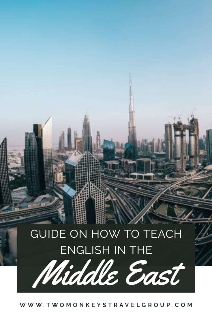 How to Teach English in the Middle East – TEFL Teaching Job in the Arab Countries
