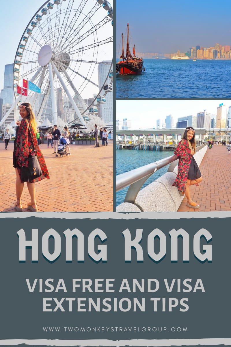 Is Hong Kong Visa Free For Filipinos [Tips for Visa Extension in Hong Kong]