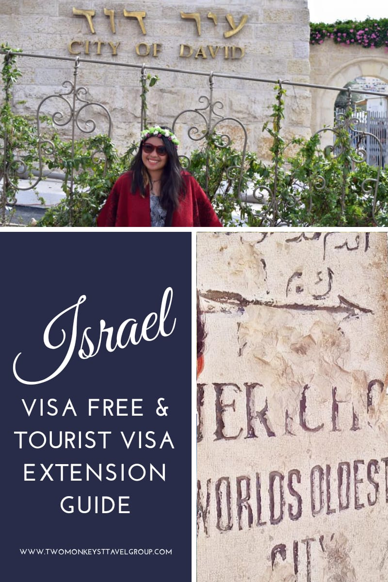 Is Israel Visa Free for Filipinos Requirements and Guide to Visa Extension in Israel