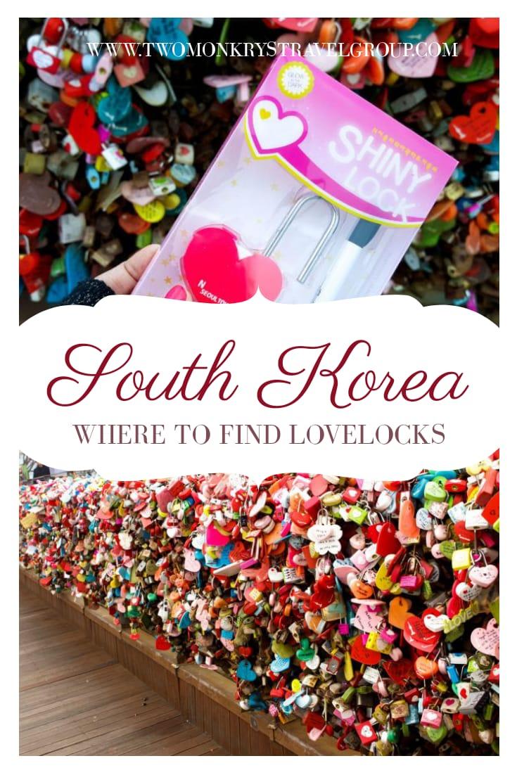 Love Locks in South Korea Where to Find LoveLocks in Seoul