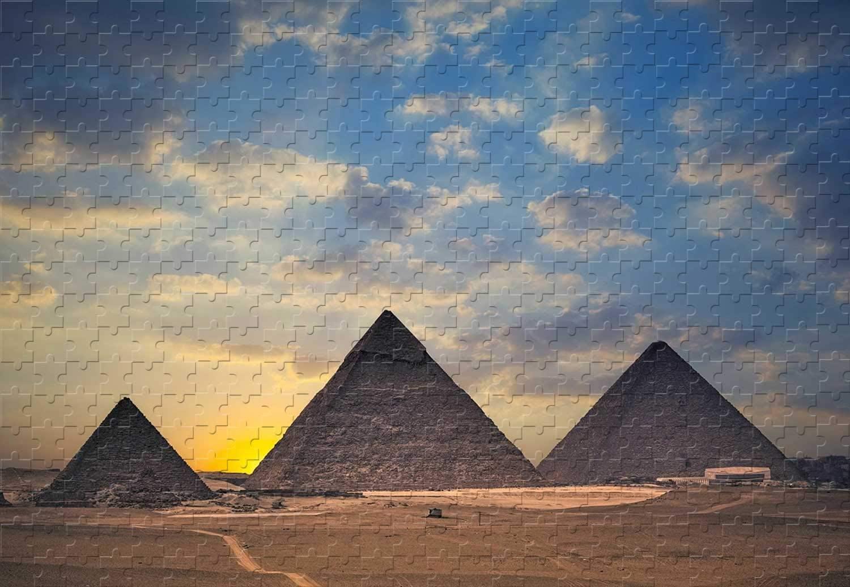Pyramid Giza travel zigsaw puzzle